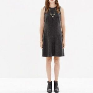 NEW | Madewell Wool Blend Grey Dress